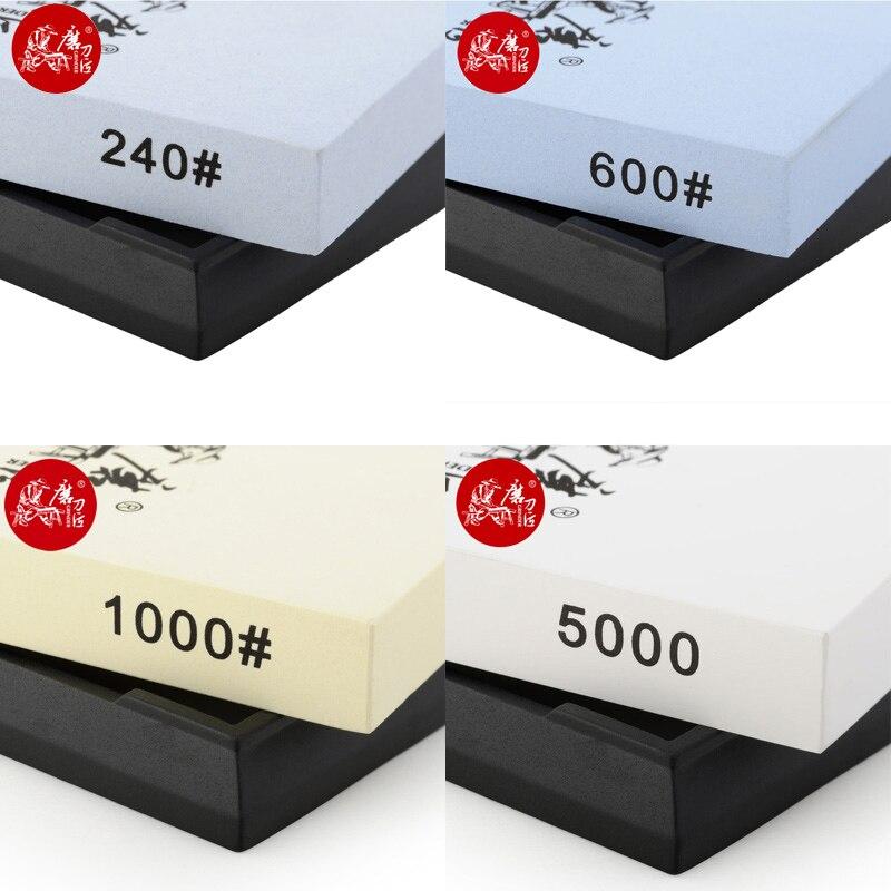 TAIDEA whetstone sharpener knife sharping tools White corundum 240 600 1000 5000 free shipping