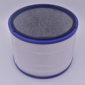 1 piece DP01 air purifier filter purple accessory for Dyson Clean Cold Link air cleaning station fan
