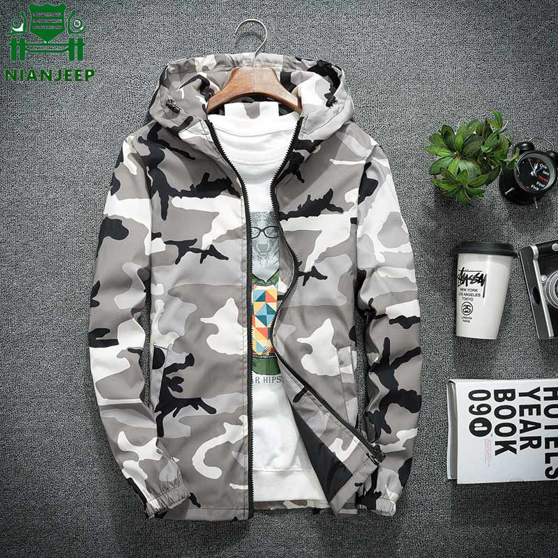 Camouflage Jacket Spring Classic Hip-Hop-Streetwear Military Summer New 5xl Casual Long-Sleeve