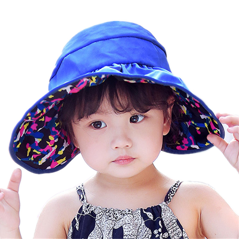 565f21e6fb Double sided sun hat camouflage empty top hats children fisherman cap  outdoor sunscreen waterproof beach hat kids accessories-in Sun Hats from  Apparel ...