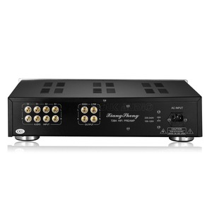 Image 2 - Nobsound Ultime di Fascia Alta di Vuoto 12AT7 12AU7 Tubo Pre Amplificatore Stereo Hi Fi Audio Del Desktop Preamplificatore