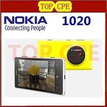 "Original Nokia Lumia 1020 41.0MP Camra 32GB ROM 2G Brand mobile phone unlocked 4.5"" Touch screen Dual core WIFI Free shipping"