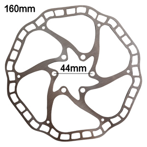 Bicycle Disc Brake Rotor SUS 410 Material 160MM/18 HS1 6 Bolts MTB Mountain Bike Disc Hydraulic Mountain