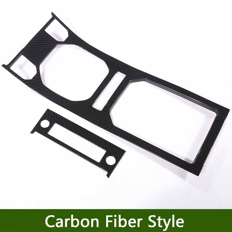 Carbon Fiber ABS Plastic For Land Rover Range Rover Evoque 12-17 Center Console Gear Panel Decorative Cover Trim Newest newest for land rover range rover evoque abs center console gear panel chrome decorative cover trim car styling 2012 2017 page 8