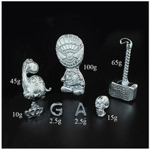 10/20/50g 99.99% Pure Ga Gallium Metal Toy Educational Diy Toy Low Melting Point Metal Magic Magician Supplies
