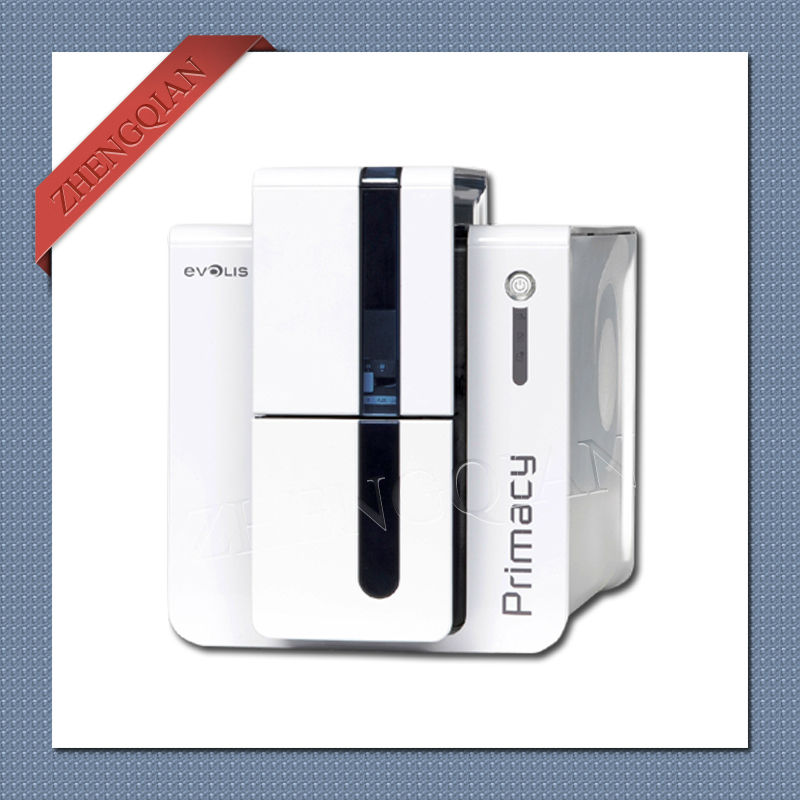 High quality Evolis Primacy id pvc card printer single sided with one R5F008S14 YMCKO ribbon