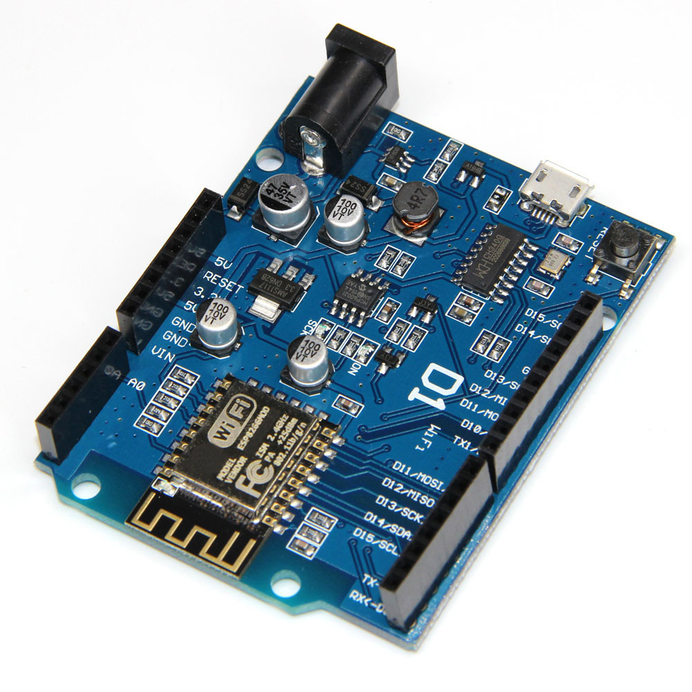 ESP8266 ESP-12F D1 WiFi UNO Based ESP12F Shield For Arduino Compatible