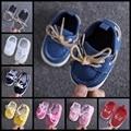 Nowborn bebé zapatos 2017 nuevo estilo bebe zapato para niños/niñas zapatos de suela suave primeros caminante tamaño 11,12, 13 cm R10211
