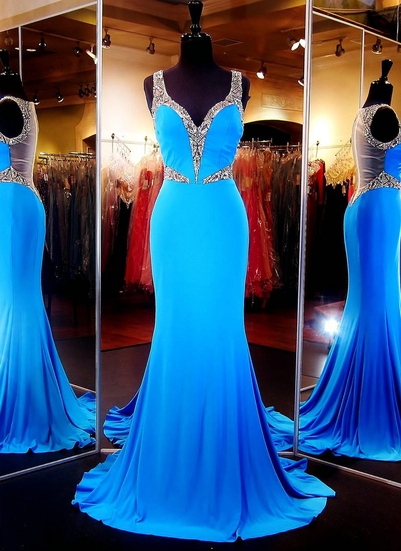 Turquoise and Evening Gown | Dress images