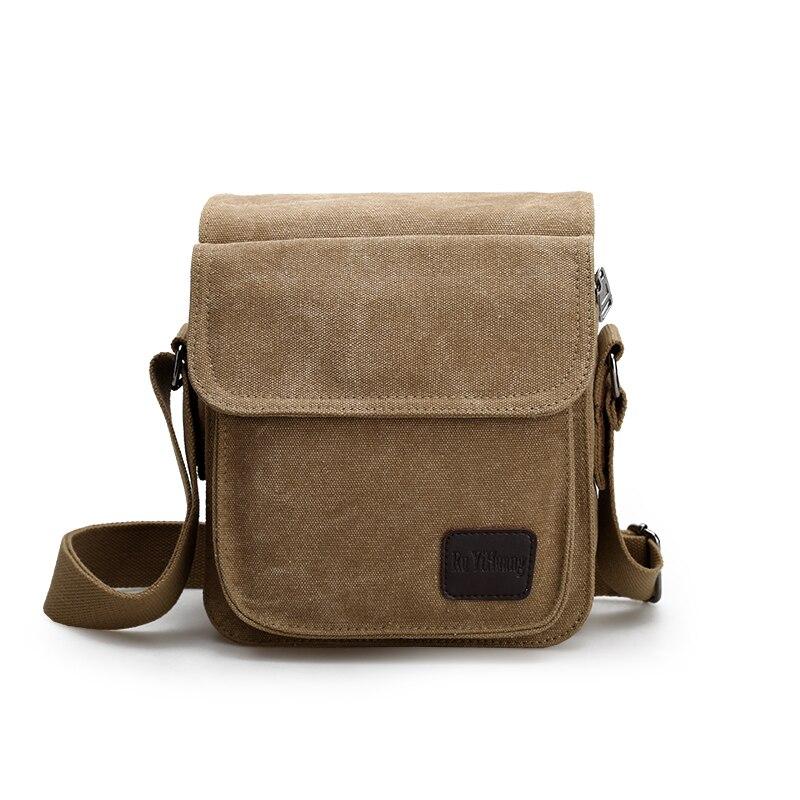 2016 New Men Canvas Bag Vintage Messenger Bag Business Handbags Casual Travel Shoulder Bag Men Crossbody Bag Male Bolsa casual canvas satchel men sling bag