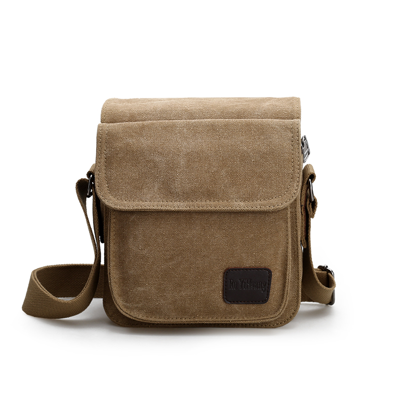 High quality Men Canvas Bag Vintage Messenger Bag Business Handbags Casual Travel Shoulder Bag Men Crossbody Bag Male Bolsa high quality casual men bag