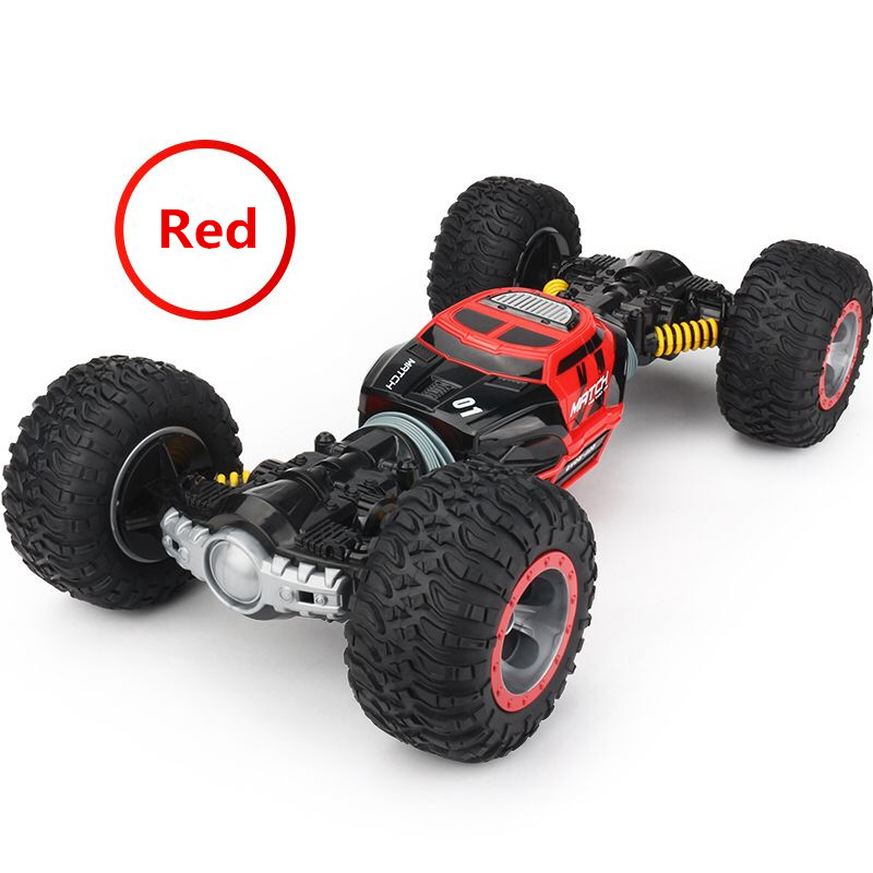 Image 3 - RC Car 4WD Truck Scale Double sided 2.4GHz  One Key Transformation All terrain Vehicle Varanid Climbing Car Remote Control Toys-in RC Cars from Toys & Hobbies