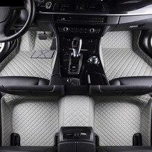 Автомобильные коврики для Toyota Land Cruiser Prado 150 120 Corolla Camry RAV4 Camry 5D Тюнинг автомобилей коврики с облицовочными вставками