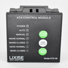 ATS106 control module Generator ats automatic transfer switch ats smart generator controller lxc3120 lixise diesel generator ats controller module oringal high quality