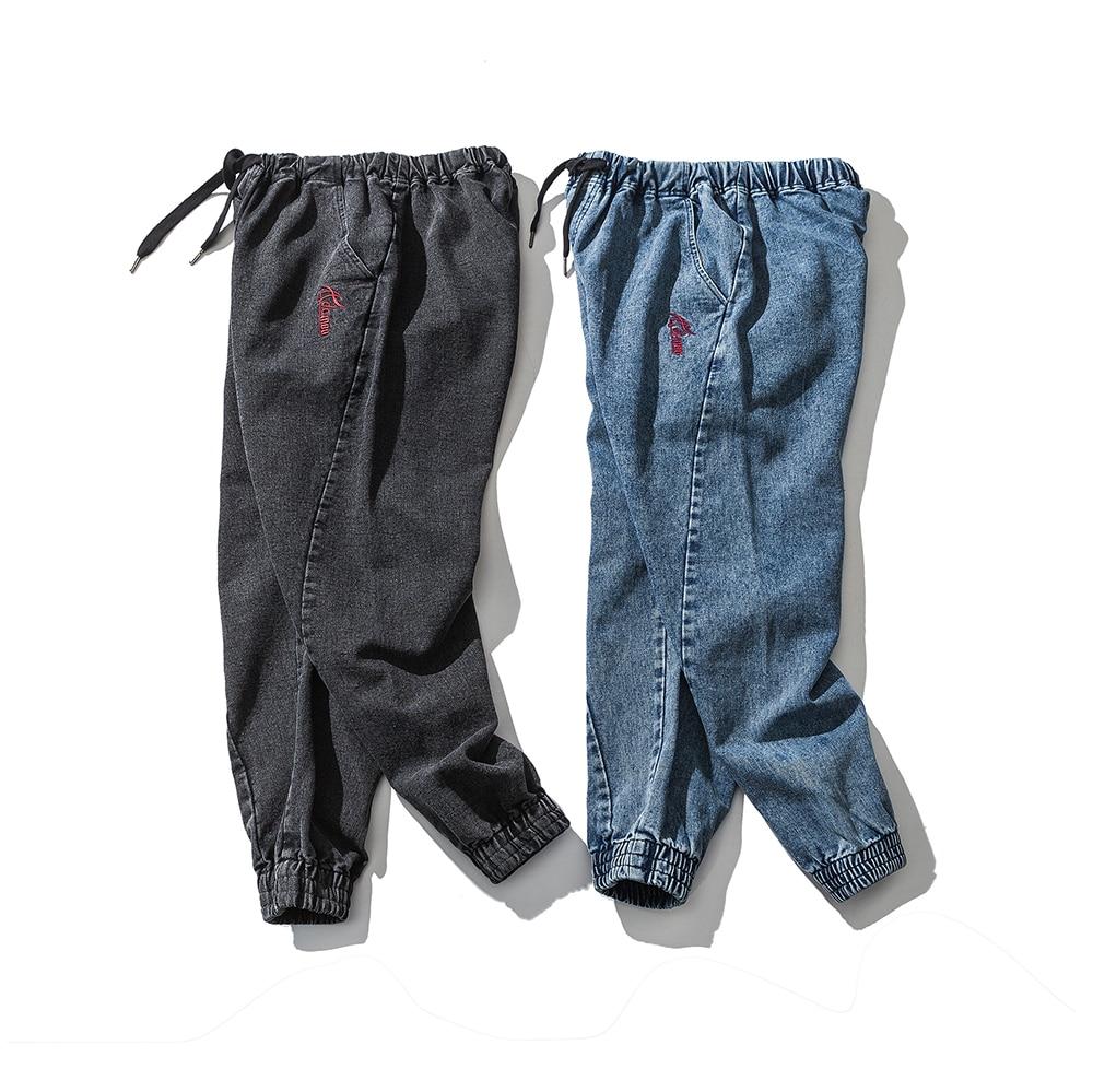 2f458dcfa00 Высокое качество для мужчин демисезонный Винтаж промывают вышивка брюки для  девочек Проблемные Джинсы уличная Harajuku мужской