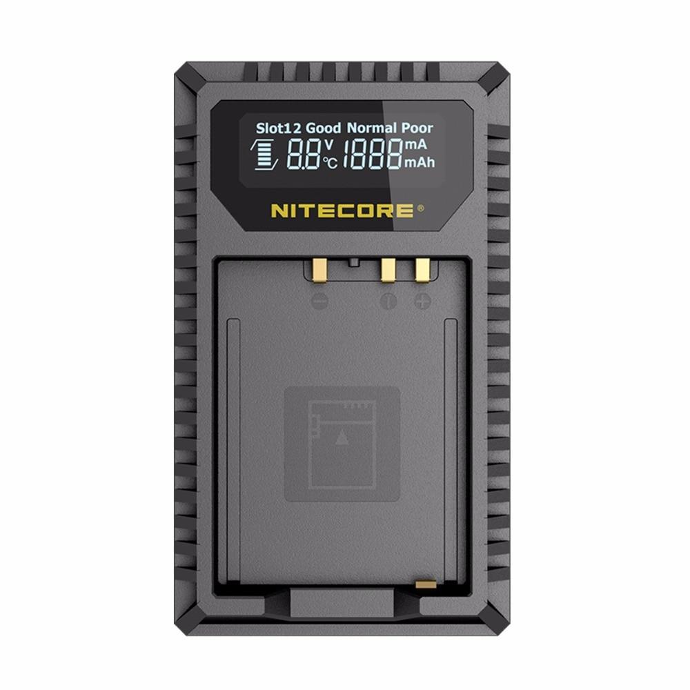 New Nitecore FX1 Dual Slot USB Camera Battery Charger For X-Pro1, X-T1, XE1, XE2, XA1, XA2, XM1, HS30, X-T2, X-E2S, X-T10