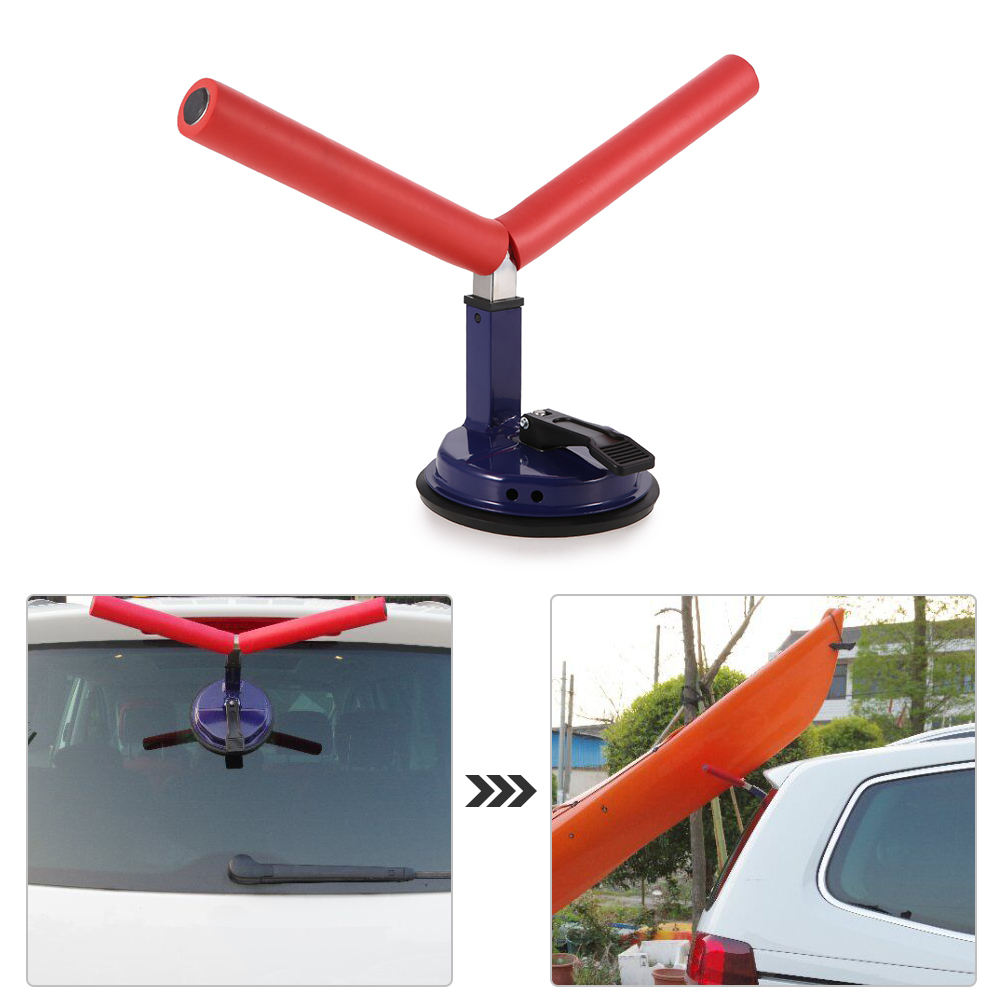 Detachable Kayak Rack Boat Kayak Yacht Fishing Height Adjustable Kayak Mount Holder Support Cradle with Suction