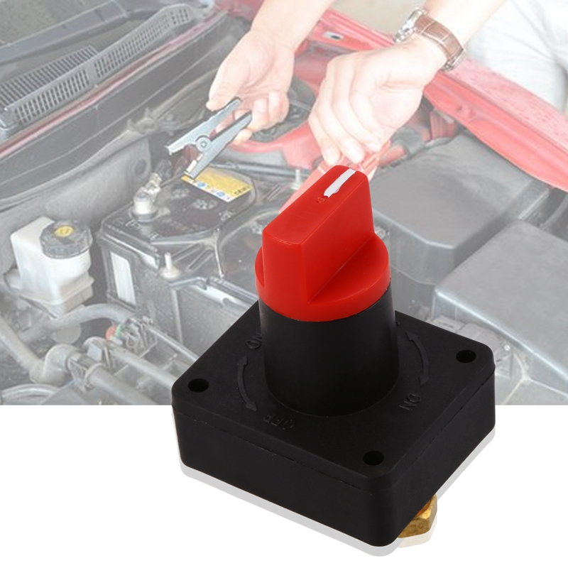 On Off Car Battery Isolator Switch Max 32V 200A CONT 300A INT Disconnect Battery Isolator Switch Master Cut Off Kill Switch for Cars Off Road Vehicle Trucks Marine//Boat