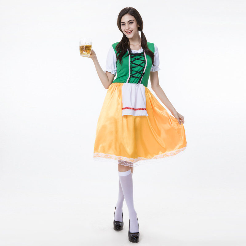 Vocole Women Sexy Bavaria Oktoberfest Costume Germany Beer Girl Fancy Dress