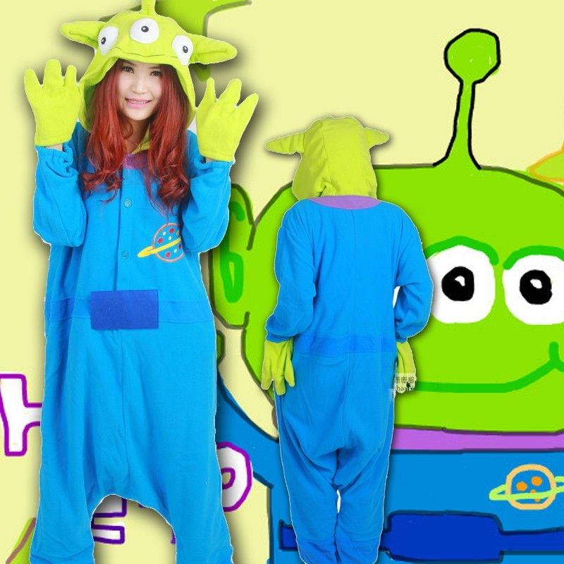 Adult Women Men Onesies Costume Cartoon Blue stitch Monster Pikachu Cosplay pajamas pyjama Sleepwears Party fancy dress