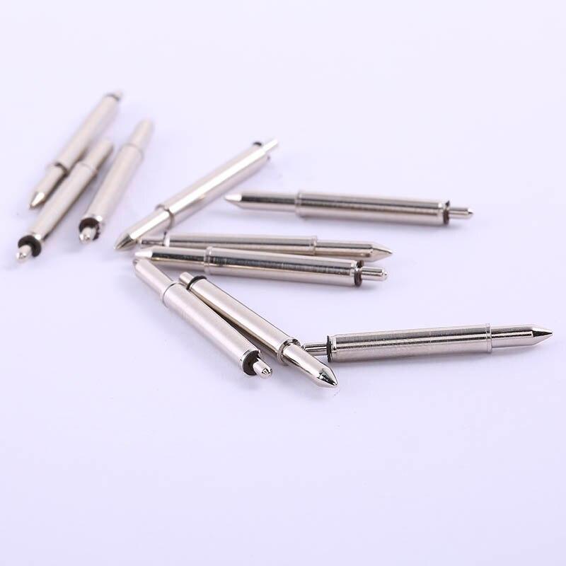 Vorsichtig 2018 50 Stücke Neue Spitzen Positionierung Pin (gp-1s) Nickel Überzogene Frühling Fingerhut Elastische Positionierung Pin Elektronische Verwenden Zubehör