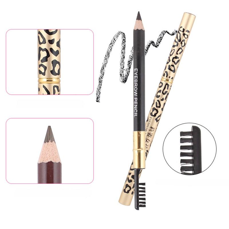 Natural Long Lasting Paint Eye Brow Tint Cosmetics Brown Eyebrow Pencil Waterproof Black Eyebrow Pencil Makeup Beauty New Brand