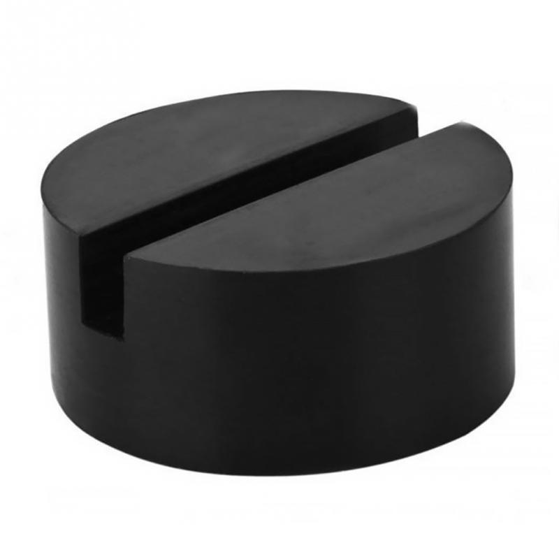 70*35 Mm  Rubber Disc Car Pad Vehicle Weld Jacking Lifting Disc Frame Protector Rail Flat Grooved Cric Protection Tool