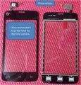 Envío libre, CN versión, Pantalla Táctil negro para Philips vidrio sin hotel para CTW3568 Móvil Xenium W3568 teléfono móvil