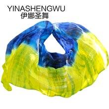 Belly Dance Veils 100% Silk High Quality veils Handmade Natural  Props