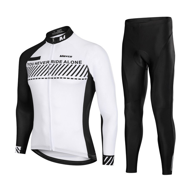 bd36a3727 Men Long Sleeve Cycling Jersey MTB Road Bike Clothes Mountain Bicycle  Riding Clothing Autumn Summer Cycle Tops Jacket