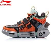 Li Ning FW Женская ESSENCE ACE + Wade Культовая обувь натуральная кожа носимая подкладка Спортивная обувь Кроссовки AGWP018 XYL244