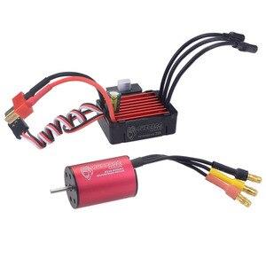 Image 2 - Surpass Hobby bezszczotkowy regulator prędkości 25A ESC + 2030 4500kv silnik wodoodporny do samochodu 1/18 i 1/20 RC