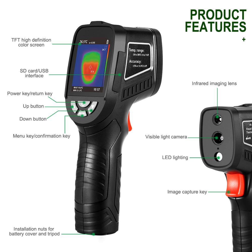 Thermal camera thermique infrarouge thermal imaging camera thermal Infrared Image Resolution Thermal Imager camara termografica