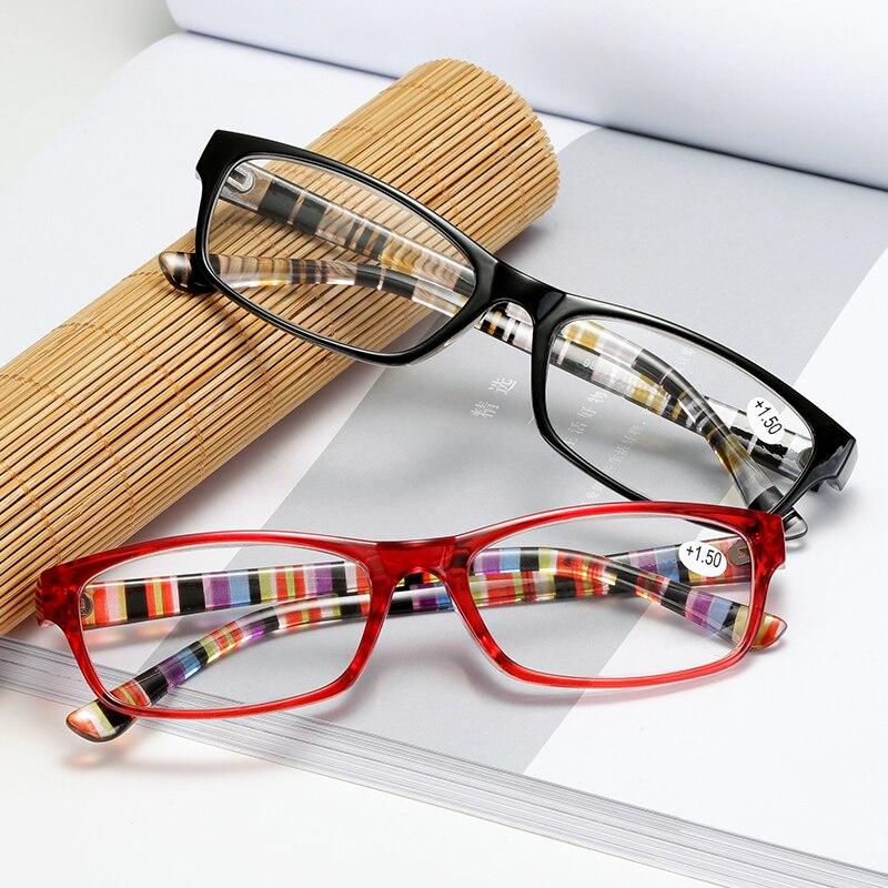 TOEXPLORE Fashion The Aged Reading Glasses Men Women Portable Presbyopic Eyewear Anti Fatiguel Vintage Retro Optical Glasses