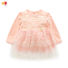 AD Quality Mesh Lap Girls Dresses Childrens Clothing for Spring Autumn Princess Fairy