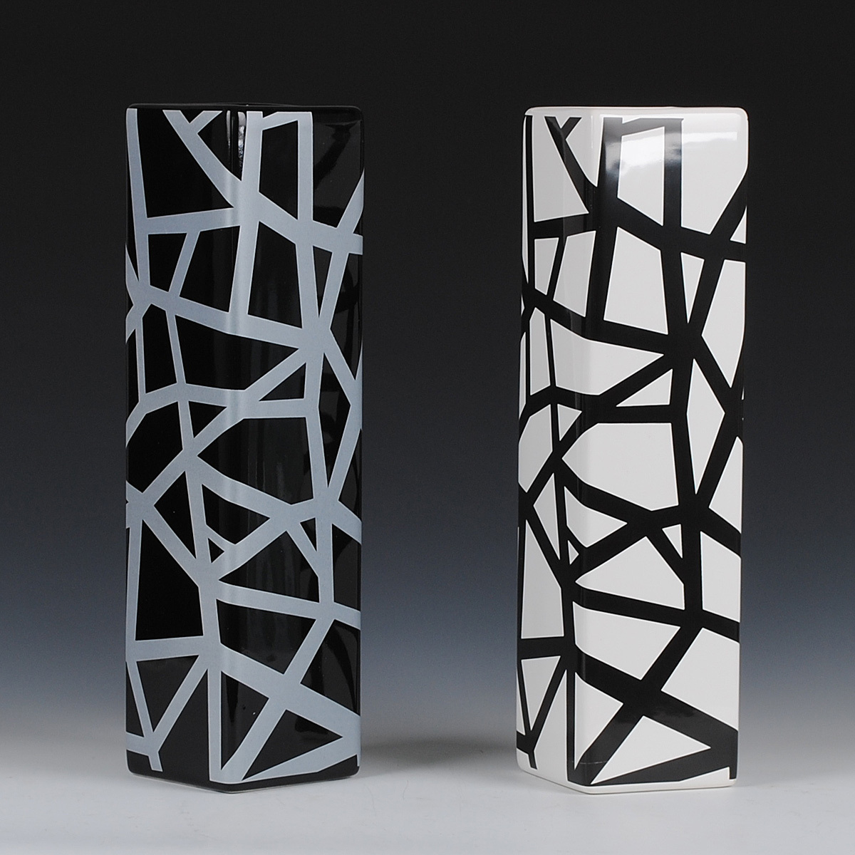online shop black and white lines fashion floor vase fashion  - online shop black and white lines fashion floor vase fashion accessoriesceramics modern brief  aliexpress mobile