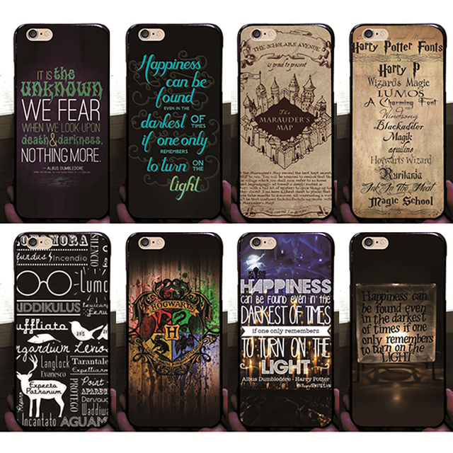 iphone 6 harry potter hard case