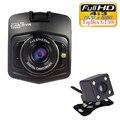 Lente dupla Câmera Do Carro DVR GT300 Topbox Traço Cam Full HD 1080 P Gravador de Vídeo Registrator Caixa de Backup Rear View Camera Night Vision