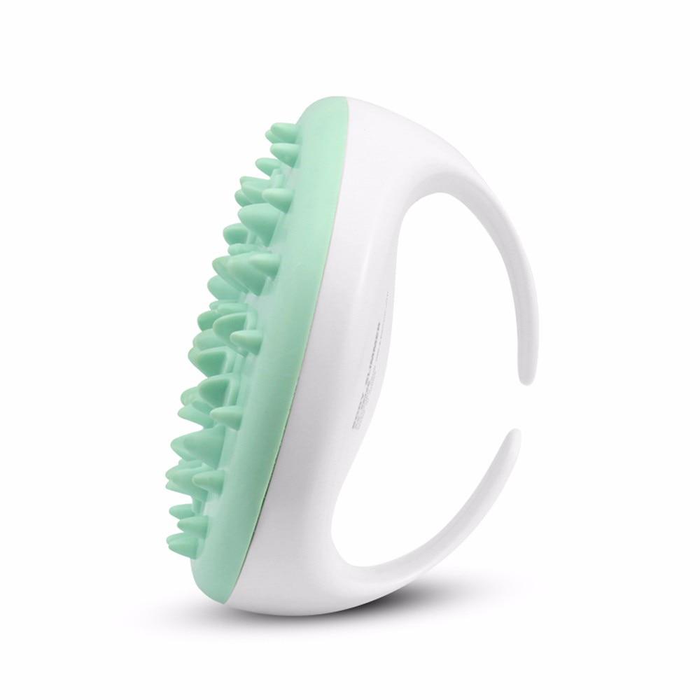 1PC Handheld Bath Shower Anti Cellulite Full Body Massage Brush Slimming Beauty