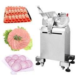 Baranina krajalnica komercyjnych strugarka do mięsa maszyna do krojenia automatyczne lamb wołowiny rolki maszyny do cięcia