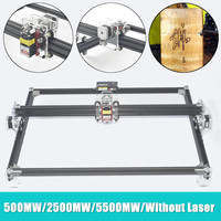 500MW/2500MW/5500MW DIY Laser Engraver Machine DVP6550 Wood Router CNC MiniUSB DIY Engraver Desktop Wood Router/Cutter/Printer