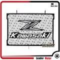 Para kawasaki z800 2013-2016 accesorios de motos radiador guardia protector de la cubierta negro