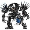 156 pcs estrelas soldados da guerra robots hero factory bionicle von nebula tijolos educacional diy bricks brinquedos diy compatível com legoe