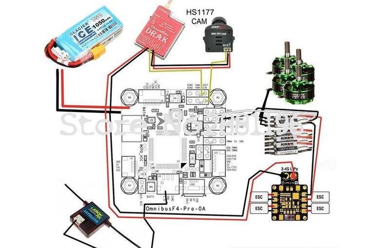 US $16 95 |Betaflight F4 V2 PRO Flight Controller Board w/ Baro Built in  OSD With Power Supply For RC FPV Mini Racing Drone-in Parts & Accessories