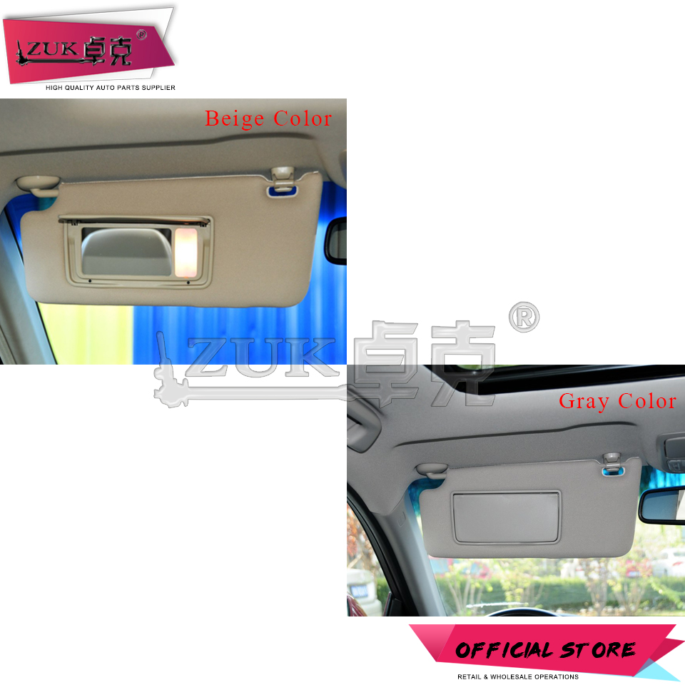 ZUK Driver Side Sunvisor Sunshade Sun Shield Antidazzle Visor For ... 1f0c007cbe2