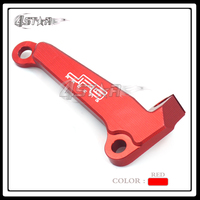 Red CNC Aluminum Motorcycle Motocross Racing Engine Clutch Line Clamp Cable Bracket For CRF 250 R CRF250R 2014 2015 2016 2017