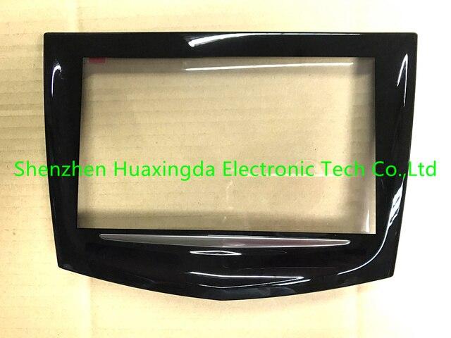 Envío gratuito Original nuevo OEM pantalla táctil de fábrica uso para Cadillac CUE CTS SRX XTS coche DVD navegación GPS LCD panel digitalizador