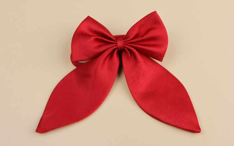 Giraffita 1 шт Женский галстук красная бабочка Для женщин галстук-бабочка черный узел Девушка Студент официантка гостиницы шее носить Ленточные Галстуки