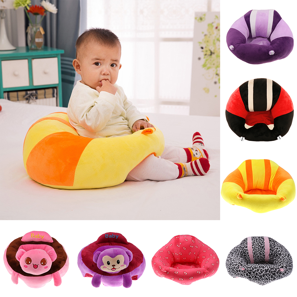 Soft Cute Toddler Baby Support Seat Sofa Baby Learning Chair Plush Toys