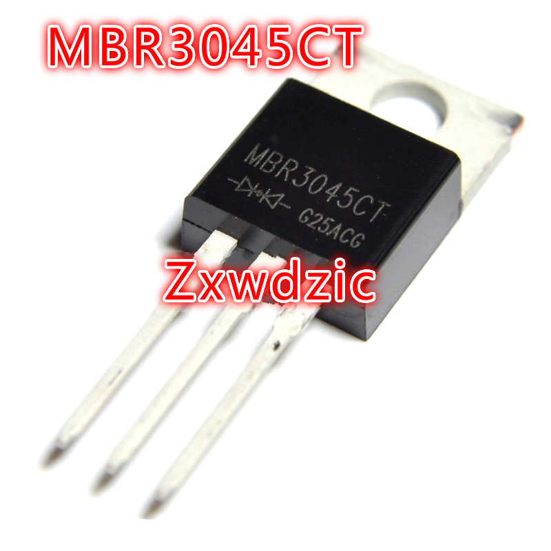 10pcs MBR3045CT TO-220 <font><b>MBR3045</b></font> TO220 MBR3045C 30A45V new original image